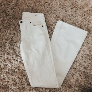 CITIZENS OF HUMANITY Ingrid flare white jeans